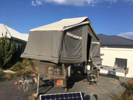 2013 MDC Jackson forward fold camper trailer South Fremantle Fremantle Area Preview