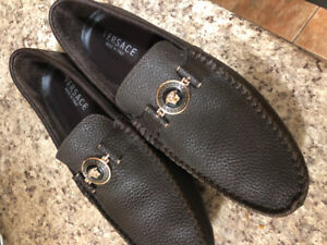 Versace loafers size 10 priced  to sell