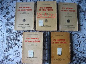 5 romans Un homme et son péché
