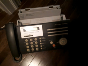 Sharpe fax/copy machine/phone