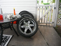 22inch tires and rims