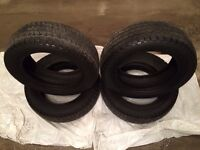 """15"""" Cooper Weather Master Winter Tires - 10/32nds tread"""