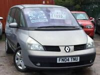2004 RENAULT ESPACE Expression Dci 150bhp 2.2