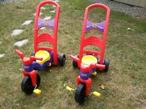 Fisher-Price Trikes and Henry See-Saw
