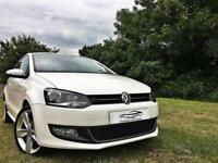 Volkswagen Polo 1.4 ( 85ps ) 2010 SEL Model 3dr Arctic White 3 Door VW POLO