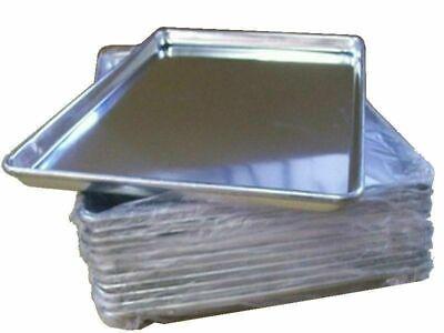 12 Large Aluminum 18x26 Bakery Baking Sheet Pan Industrial Restaurant Quality