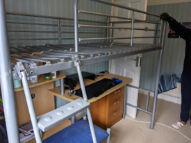 Bunk Bed (Strong Metal Frame)