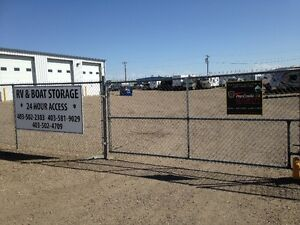 Premium RV Storage in secured and camera monitored Lot