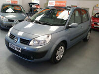 2006 RENAULT SCENIC 1.6cc OASIS - RENAULT + 1 PRIVATE OWNER FROM NEW