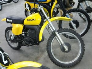 Wanted Vintage Suzuki RM and TM motocross bikes