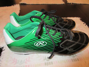 NEW Soccer/Baseball rubber cleats, Rawlings size 11