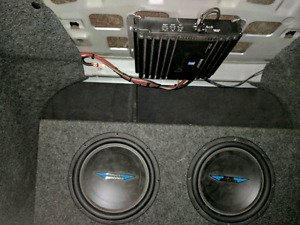 Sub+Amp forsale and Double din Pioneer