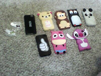 Iphone 4-5 cases and dust plugs.