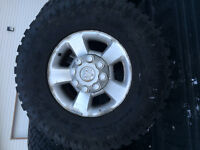 2500 dodge rims with tires