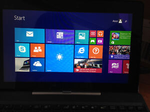 Asus- laptop / tablet in one- touch screen London Ontario image 1