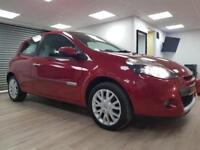 Renault Clio 1.2 16v Dynamique RED SAT NAV WARRANTY 12 MONTHS MOT FULL SERVICE H