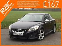 2012 Volvo C30 2.0 R Design 5 Speed Bluetooth Climate Control Just 2 Private Own