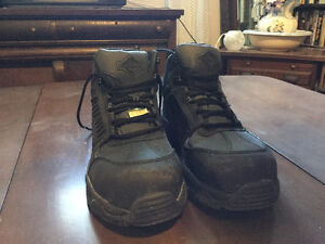 Barely-Worn Size 11 Steel-Toe Boots