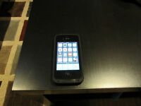 iPhone 4s 32 GB with Black Lifeproof Case