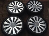 "19"" Genuine Audi A8 5x112 Alloys and Tyres"