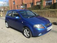 57 Chevrolet Kalos 1.4 SX 5 DR FULL MOT, 78K, DRIVES NICELY £895 P/EX ALL CARDS