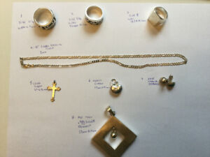 Mens and Womens Sterling Silver jewellery