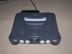 NINTENDO 64 CONSOLE COMPLETE & TESTED VERY NICE