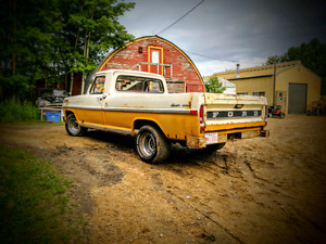 1972 Ford F100 Rat Rod Daily driver