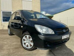 2008 Hyundai Getz TB MY09 SX Black 4 Speed Automatic Hatchback South Windsor Hawkesbury Area Preview