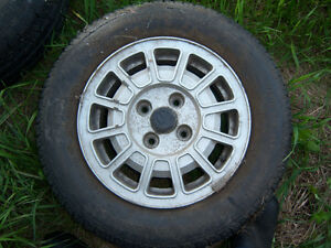"VOLKSWAGEN/ AUDI 13"" MAG WHEEL 4 BOLT PATTERN Strathcona County Edmonton Area image 4"