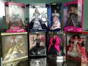 Collector Barbies NRFB mint condition