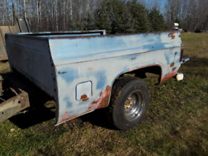 1981 Chevy Pickup Short Box Bed & Chassis Rare from Texas