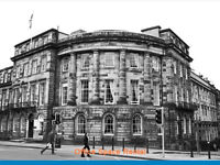 Fully Furnished - ( CENTRAL EDINBURGH -EH3) Office Space to Let in Edinburgh