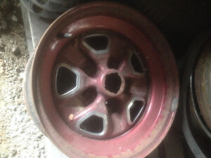 OLDSMOBLE CUTLASS RALLY RIMS 15 X 7