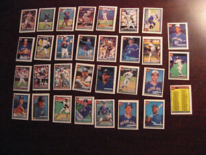 1991 Topps Toronto Blue Jays Baseball Mini Team Set Belleville Belleville Area image 1