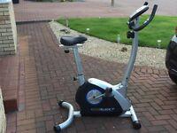 Roger Black Silver Exercise Bike