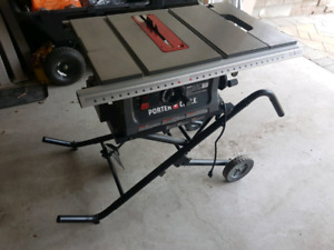 "Kobalt Table saw 10"" with Folding stand"