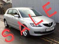 2006 MAZDA 3 1.6 TS new MOT very clean car