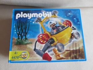 Playmobil Deep Sea Diving Bell – 100% complete in box (Bath Toy)