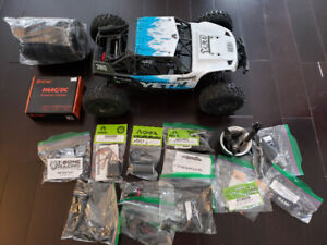 RC car  Axial Yeti 1/10 Rock Racer As New + Warr. + extras