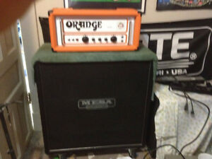 Orange AD30 (single channel) & Mesa 4x12 Traditional Straight