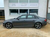 2014 Audi A4 TDI QUATTRO S LINE BLACK EDITION Auto Saloon Diesel Automatic