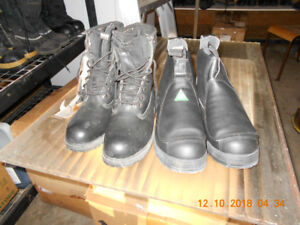 NEW MEN'S SIZE 6 SAFETY CSA STEEL TOE WORK BOOTS SHOES $60 each