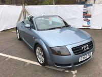 Audi TT 1.8 Roadster 150bhp, Heated Seats, Low Mileage12 Month Mot, 3 Month Warranty