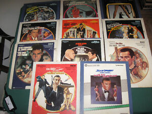 James Bond/007 Videodiscs-featuring Sean Connery/Roger Moore