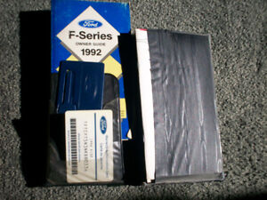 F150, F250, F350 OWNER'S MANUALS 1994 and 1996 Cambridge Kitchener Area image 3