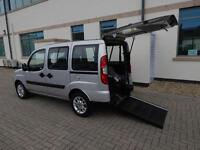 2011 11 Plate Fiat Doblo 1.4 Dynamic Wheelchair Accessible Vehicle