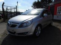 2009 Vauxhall Corsa 1.4i 16V SXi 5dr [AC],SPARES OR REPAIRS,12 months mot,2 k...