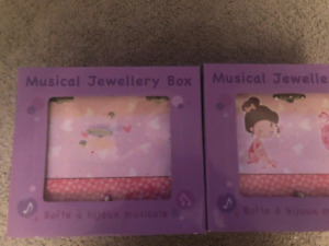 Toys Music jewelery boxes for children