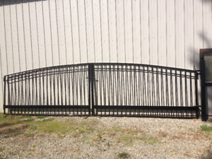 Steel Entrance Gates